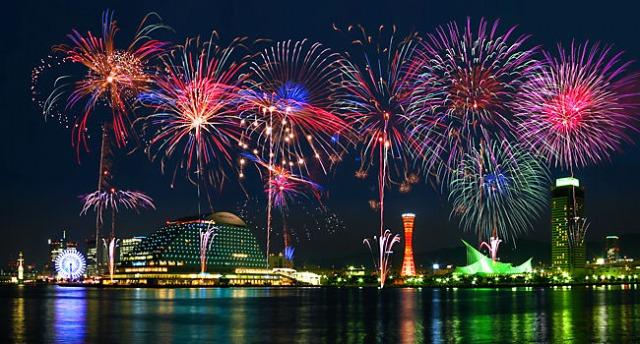 【体験記】車いすでも1万発の花火を目の前で!みなと神戸花火大会・ハートフルゾーン