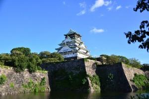 国の登録有形文化財となっている大阪城